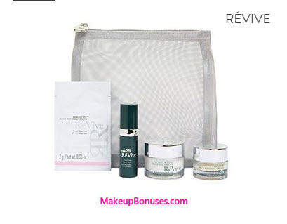 Receive a free 5-piece bonus gift with your $350 RéVive purchase