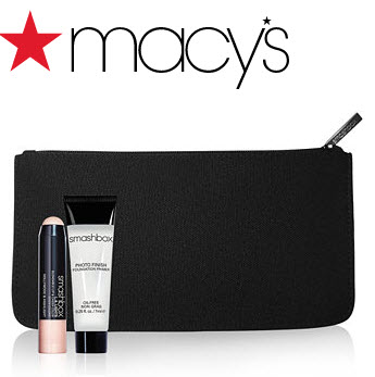 Receive a free 3-piece bonus gift with your 2 Smashbox Products purchase