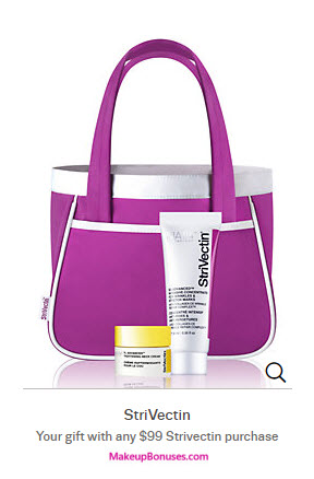 Receive a free 3-piece bonus gift with your $99 StriVectin purchase