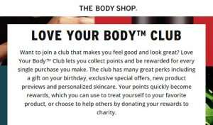the body shop free birthday gift 2017 MakeupBonuses.com