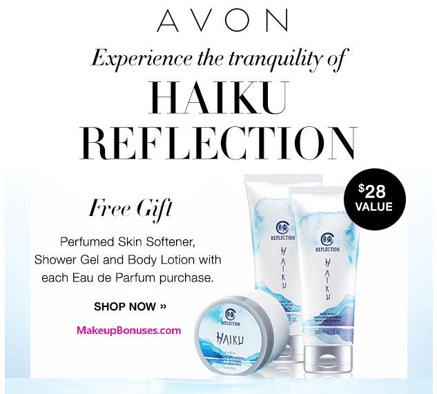 Receive a free 3-pc gift with your Haiku Reflection Eau de Parfum purchase