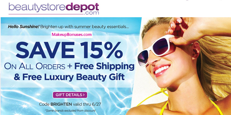 15% OFf at BeautyStoreDepot