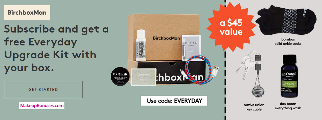 Receive a free 3-pc gift with your Men's Subscription purchase