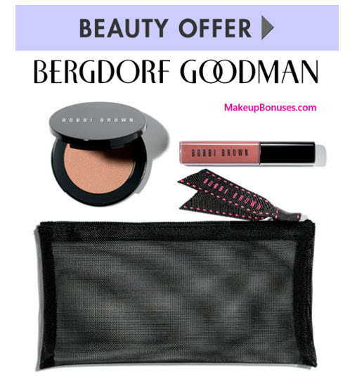 Receive a free 3-pc gift with your $125 Bobbi Brown purchase