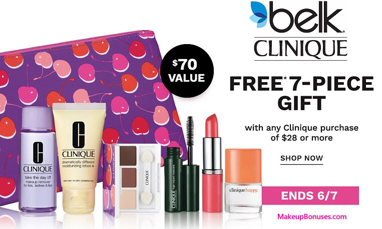 Belk Free Gift with Purchase Offers - MakeupBonuses.com
