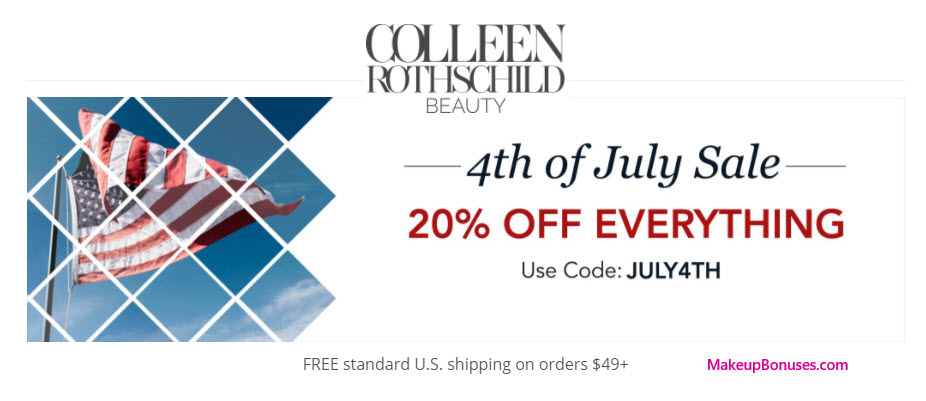 COLLEEN ROTHSCHILD - MakeupBonuses.com