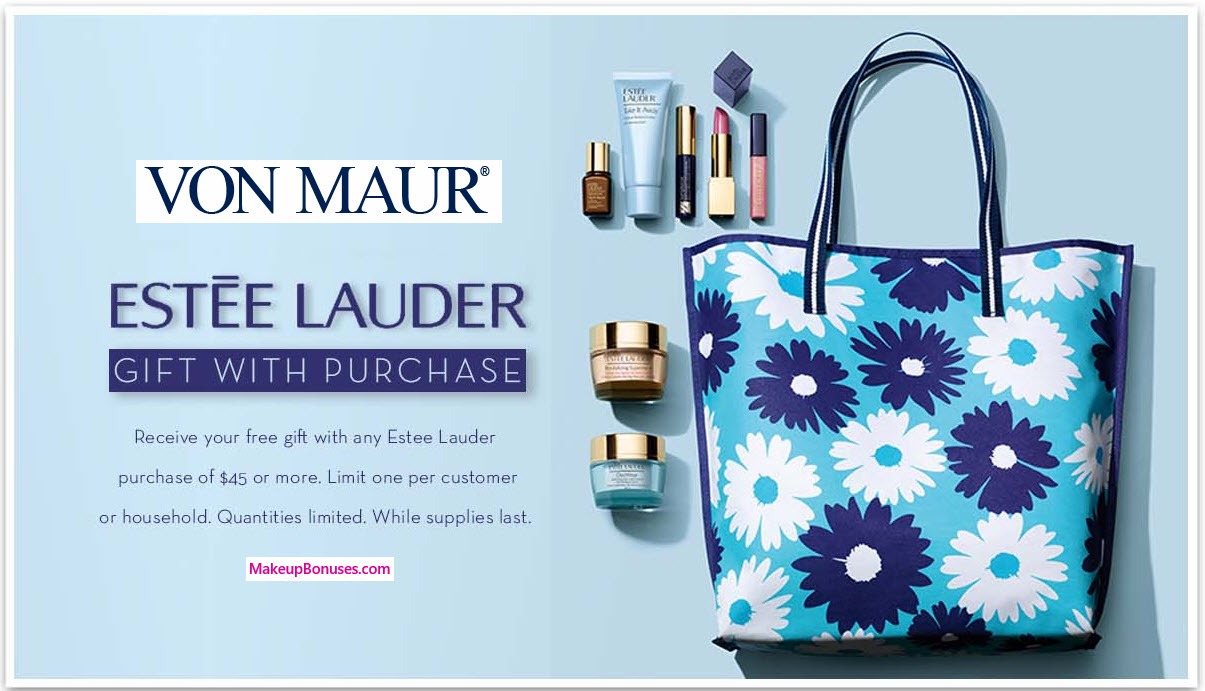 Receive a free 7-pc gift with your $45 Estée Lauder purchase