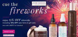 Josie Maran 15% Off - MakeupBonues.com