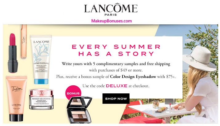 Earn 9% cash back at Lancome Shop Now You may earn 9% cash back, up to a maximum of $ per transaction, for each qualifying purchase made at final-remark.ml