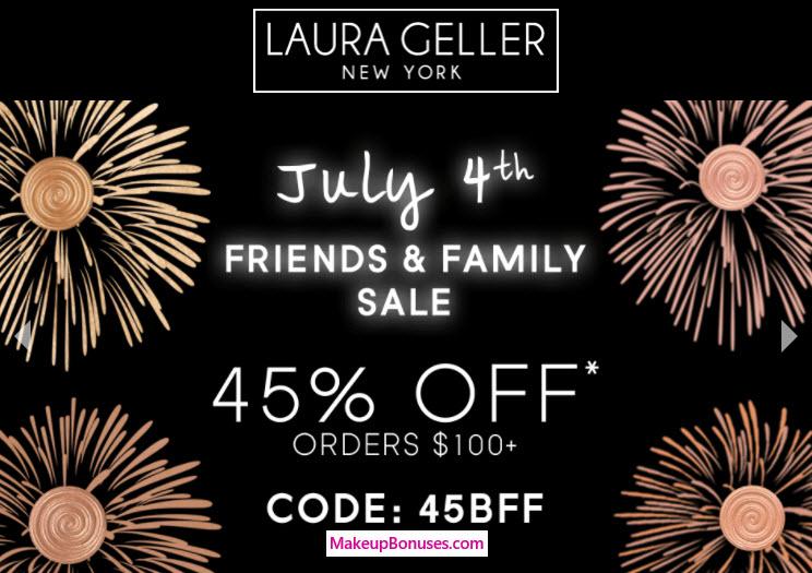 Laura Geller 45% Off - MakeupBonuses.com