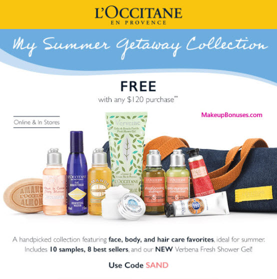Save 20% on your L'Occitane purchase - minimum order value required; Find the most current skincare and bodycare deals today! Our L'Occitane discount codes are outstanding opportunities to save, but we have many similar bargains in store for you as well.