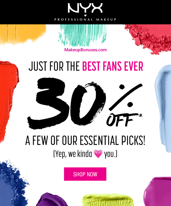 photo regarding Nyx Printable Coupon referred to as Nyx coupon code november - Fjerne scorching bargains fra personal computer
