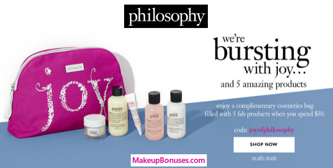 0c6d59b9 philosophy 6-pc Free Gift with Purchase - Makeup Bonuses