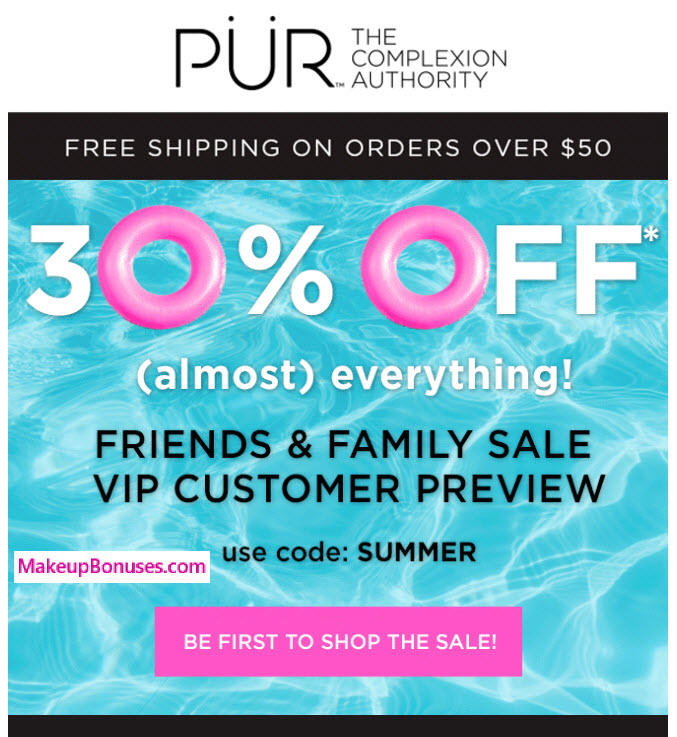 PUR 30% Off
