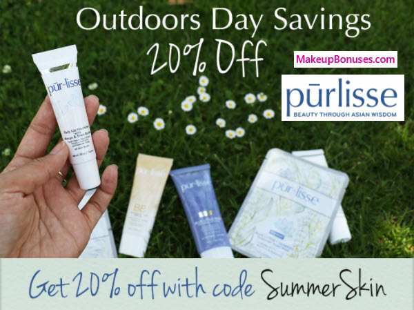 pur-lisse 20% off
