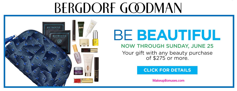 Receive a free -pc gift with your $275 Multi-Brand purchase