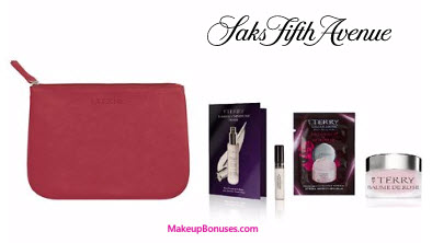 Receive a free 4-piece bonus gift with your $125 By Terry purchase
