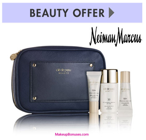 Receive a free 4-piece bonus gift with your $350 Clé de Peau Beauté purchase