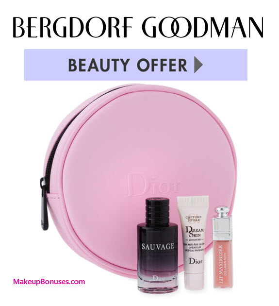 Dior Beauty 4-pc Free Gift with Purchase - MakeupBonuses.com