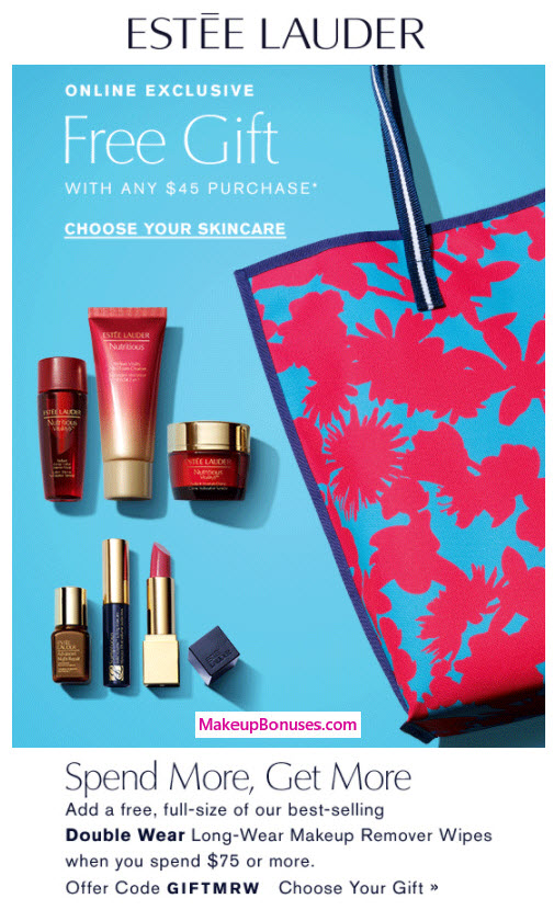 Est 233 E Lauder Free Gifts With Purchase Makeup Bonuses