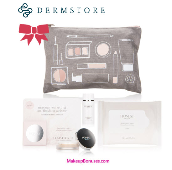 Receive a free 3-piece bonus gift with your $20 Honest Beauty purchase