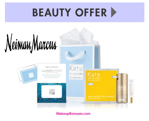 Receive a free 3-piece bonus gift with your $150 Kate Somerville purchase
