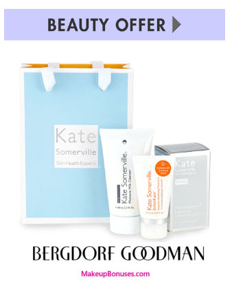 Receive a free 3-pc gift with your $200 Kate Somerville purchase