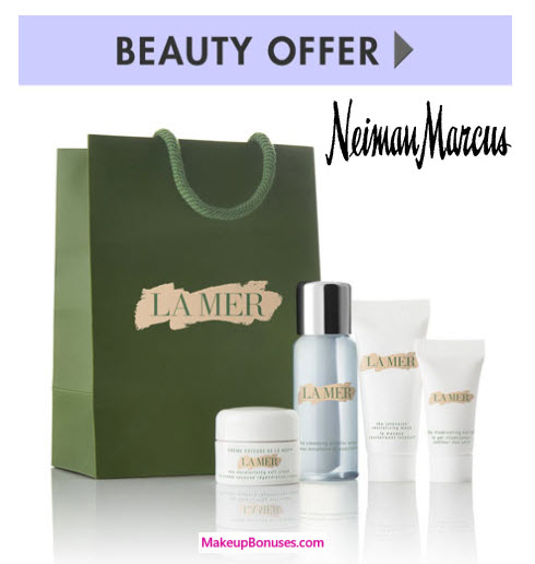 Receive a free 4-piece bonus gift with your $300 La Mer purchase