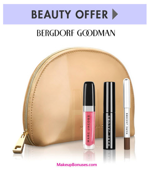 Receive a free 4-pc gift with your $100 Marc Jacobs Beauty purchase