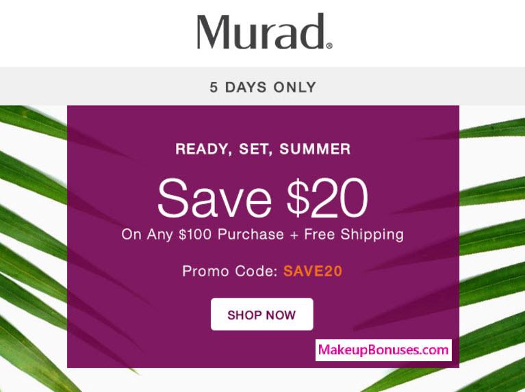 $20 Off Murad