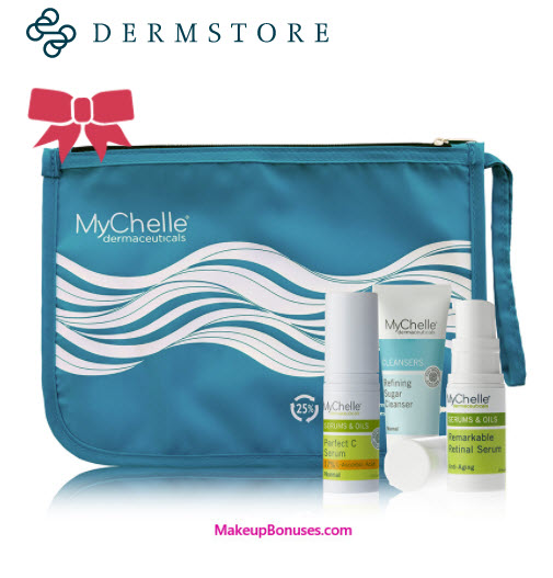Receive a free 3-piece bonus gift with your 2 MyChelle Dermaceuticals Products purchase