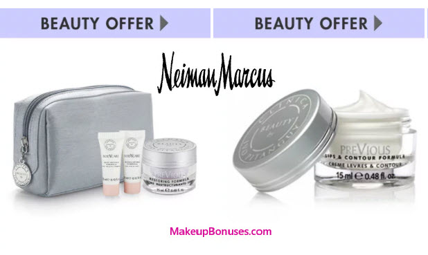 Receive a free 5-piece bonus gift with your $500 Beauty by Clinica Ivo Pitanguy purchase