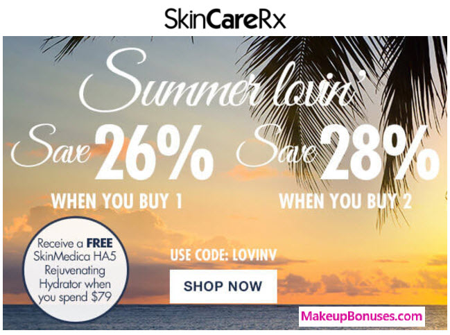 26% OFF at SkinCareRx