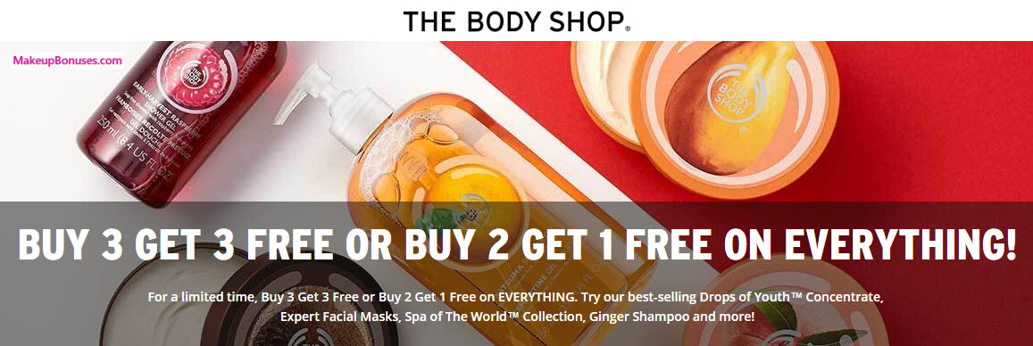 Receive a free 3-piece bonus gift with your 3 Product purchase