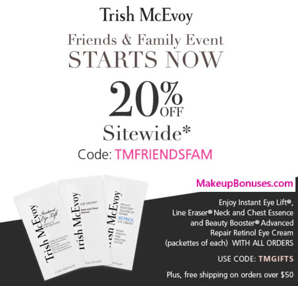 Expired Trish Mcevoy coupons