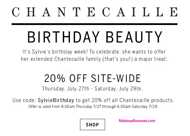 Chantecaille Sale - MakeupBonuses.com