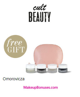 Receive a free 4-pc gift with your ~$131 (100 GBP) purchase
