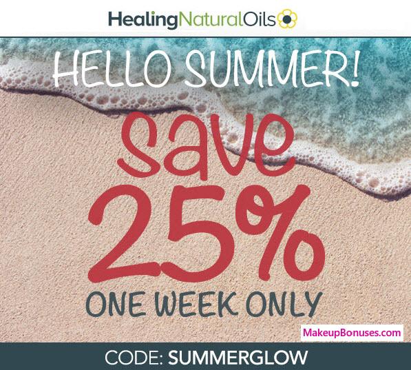 Healing Natural Oils Sale - MakeupBonuses.com