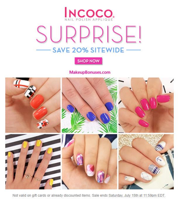 Incoco Sale - MakeupBonuses.com