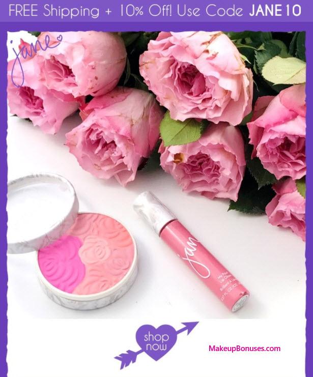 Jane Cosmetics Sale - MakeupBonuses.com