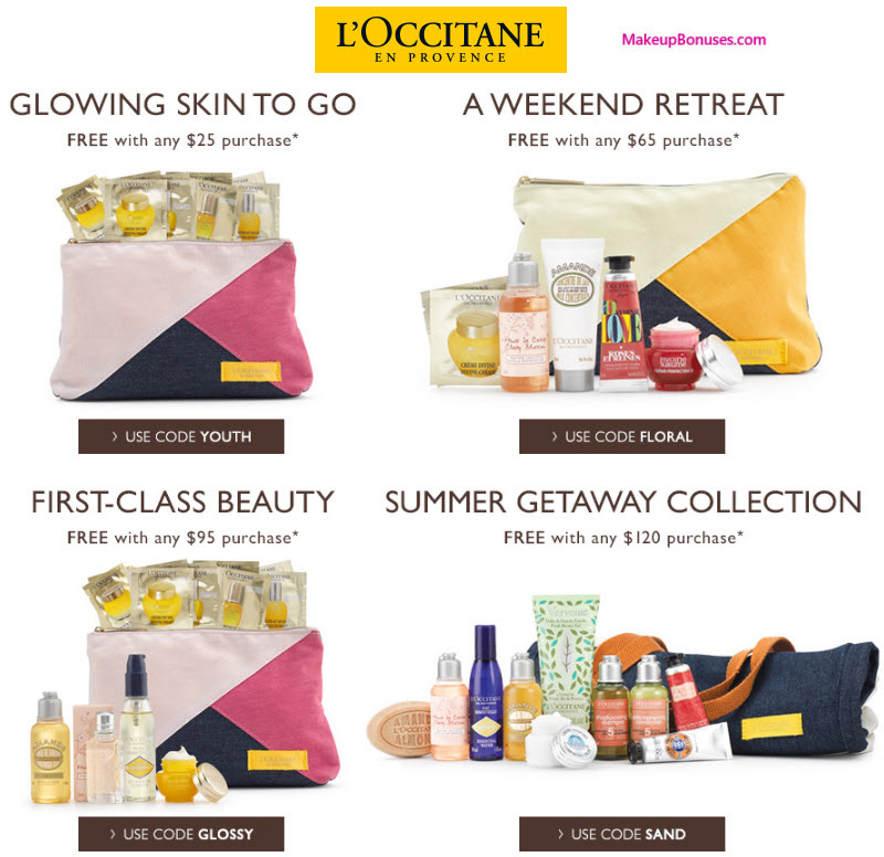 Receive A Free 7 Pc Gift With Your 65 LOccitane Purchase