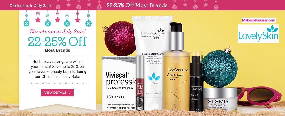 Lovely Skin Sale - MakeupBonuses.com