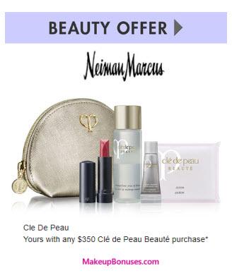 Receive a free 4-pc gift with your $350 Clé de Peau Beauté purchase