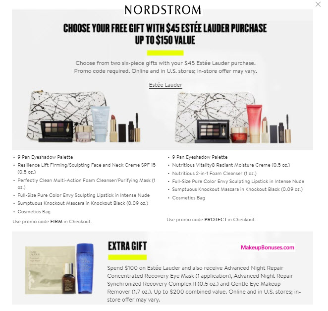 Receive a free 6-pc gift with your $45 (Nordstrom Cardholders Early Access until 7/20) purchase
