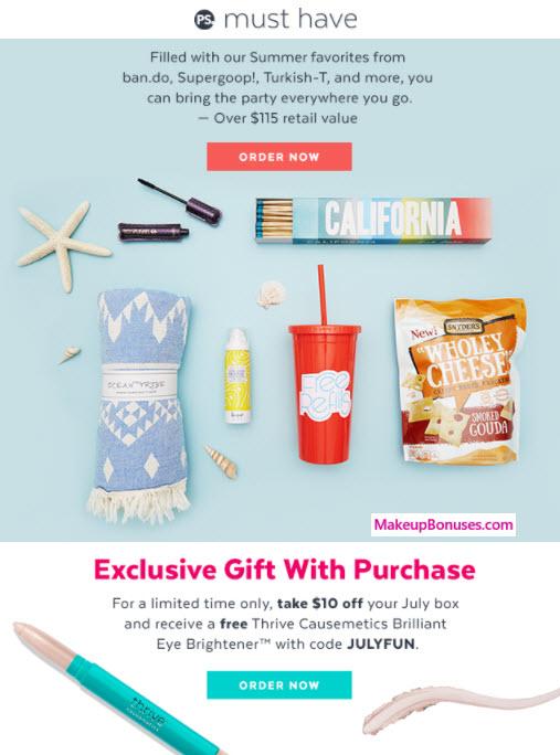 PopSugar Sale - MakeupBonuses.com