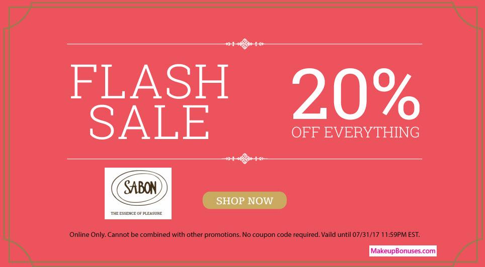 Sabon NYC Sale - MakeupBonuses.com