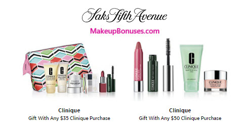 Receive a free 11-pc gift with your $50 Clinique purchase