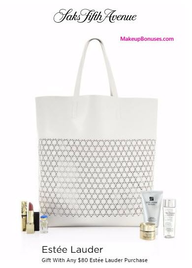 Receive a free 7-pc gift with your $80 Estée Lauder purchase