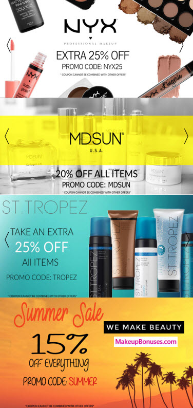 We Make Beauty 15% Off - MakeupBonuses.com