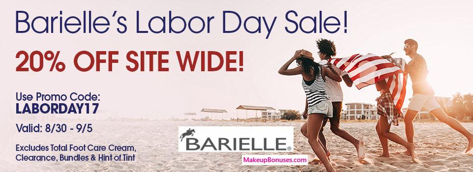 Barielle Sale - MakeupBonuses.com